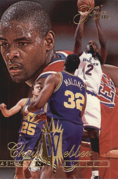 1994-95 Flair #323 Chris Webber