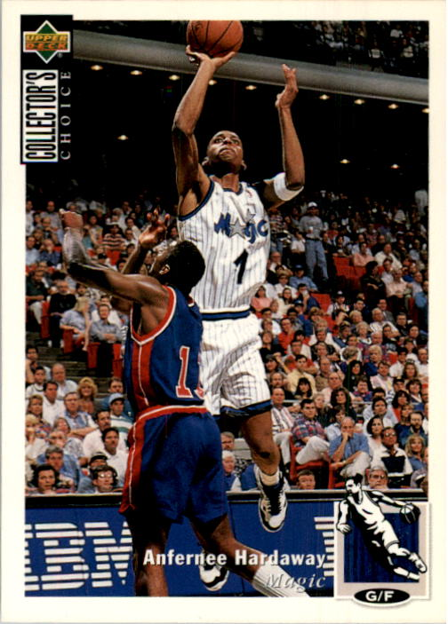1994-95 Collector's Choice #1 Anfernee Hardaway
