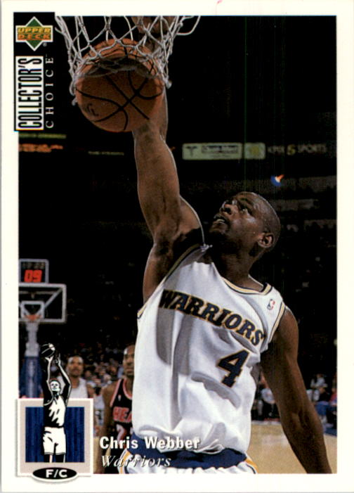 1994-95 Collector's Choice #4 Chris Webber