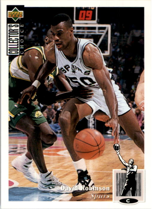 1994-95 Collector's Choice #50 David Robinson
