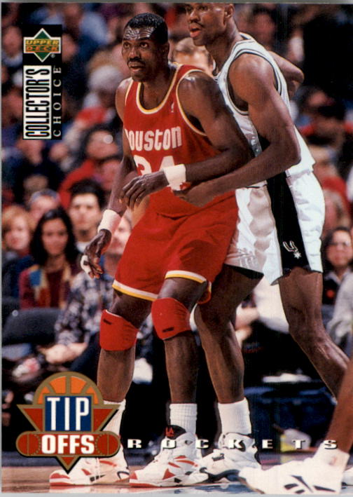 1994-95 Collector's Choice #175 Hakeem Olajuwon TO