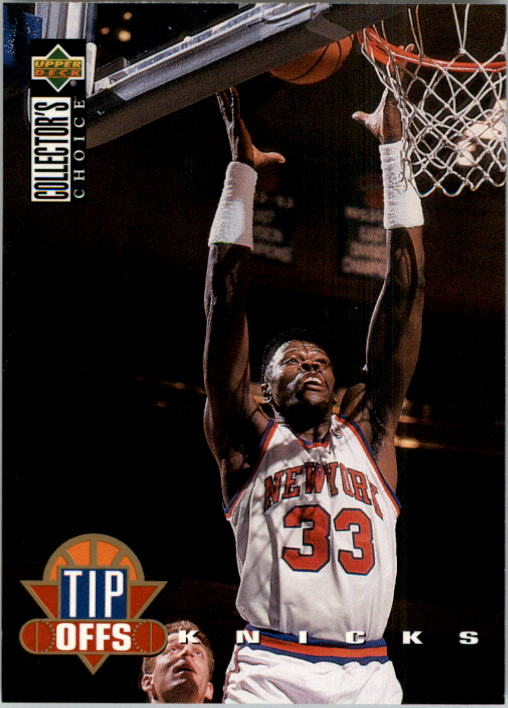 1994-95 Collector's Choice #183 Patrick Ewing TO