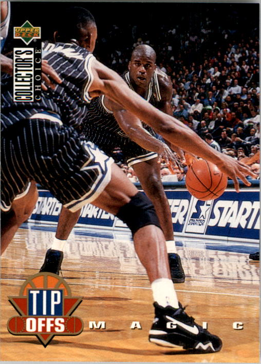 1994-95 Collector's Choice #184 Shaquille O'Neal TO