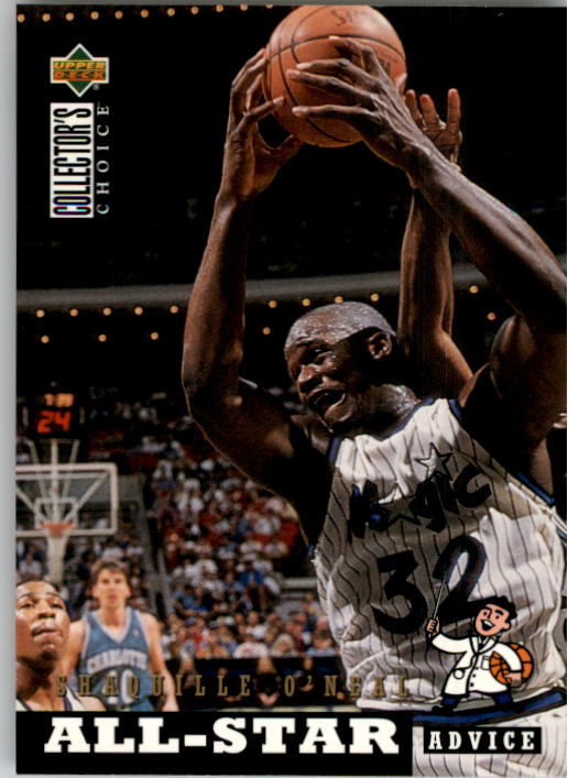 1994-95 Collector's Choice #197 Shaquille O'Neal ASA