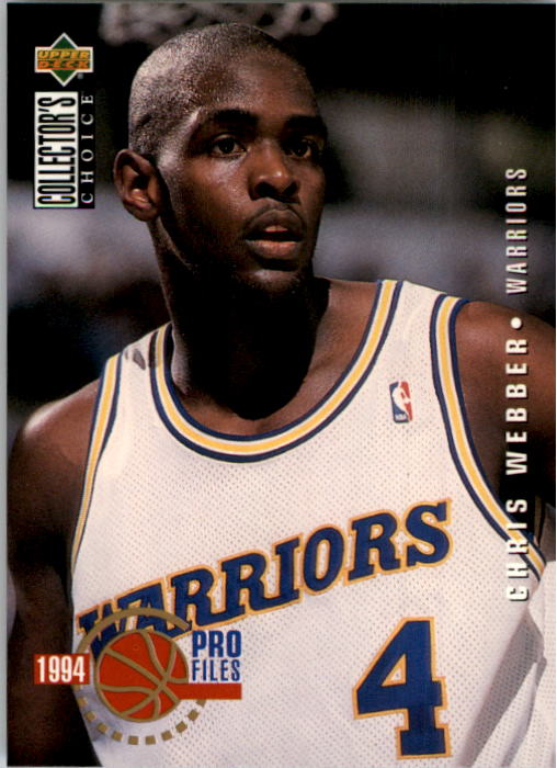 1994-95 Collector's Choice #200 Chris Webber PRO