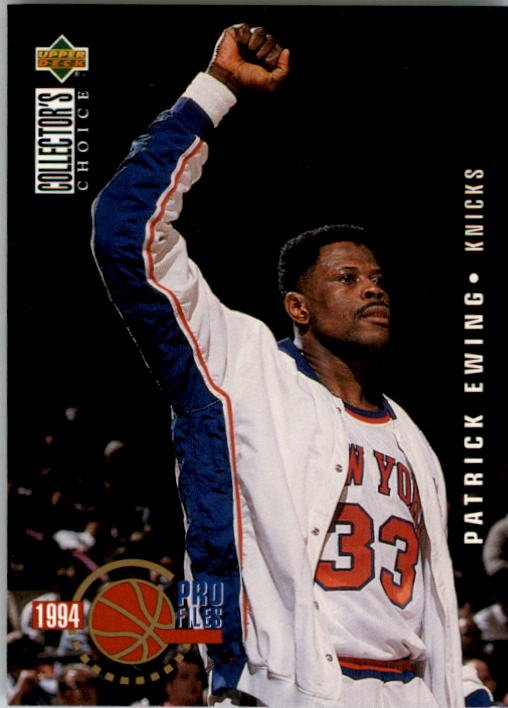 1994-95 Collector's Choice #201 Patrick Ewing PRO