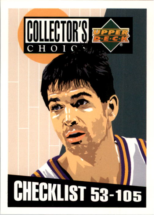 1994-95 Collector's Choice #208 John Stockton CL