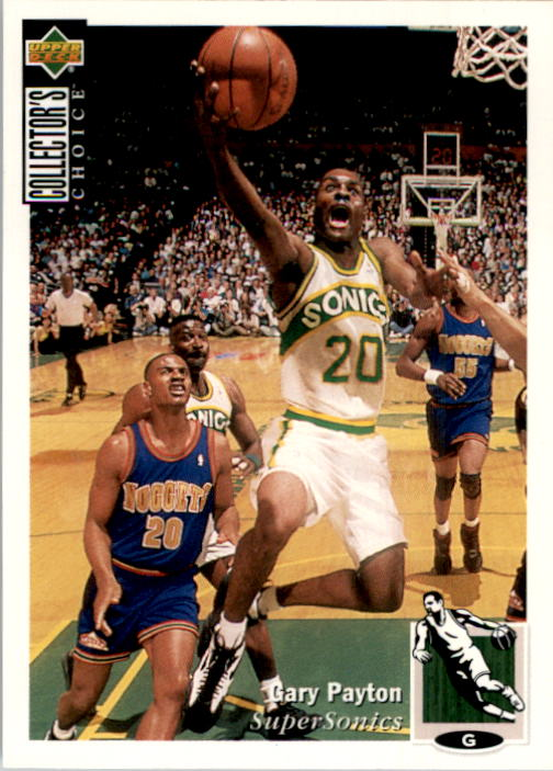 1994-95 Collector's Choice #220 Gary Payton