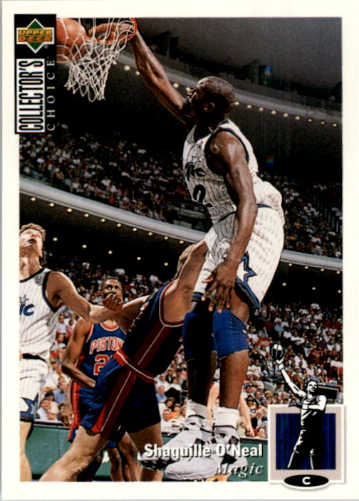 1994-95 Collector's Choice #232 Shaquille O'Neal