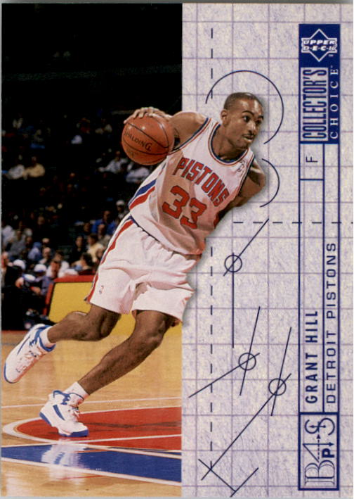 1994-95 Collector's Choice #379 Grant Hill BP