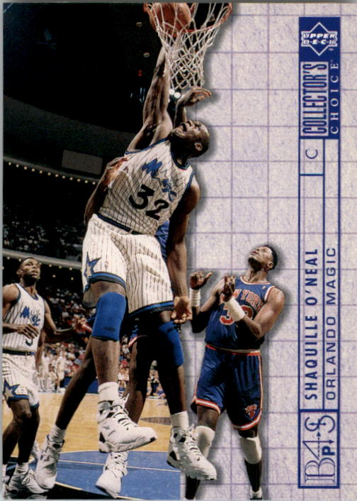 1994-95 Collector's Choice #390 Shaquille O'Neal BP