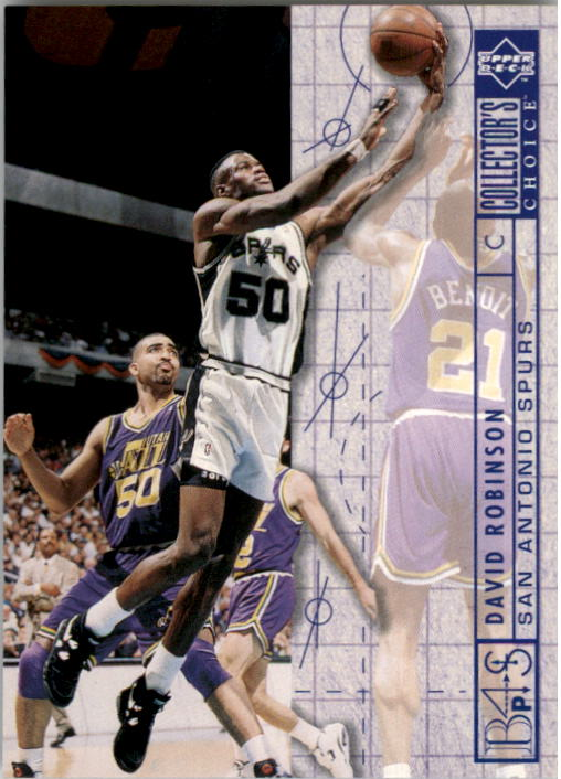 1994-95 Collector's Choice #395 David Robinson BP