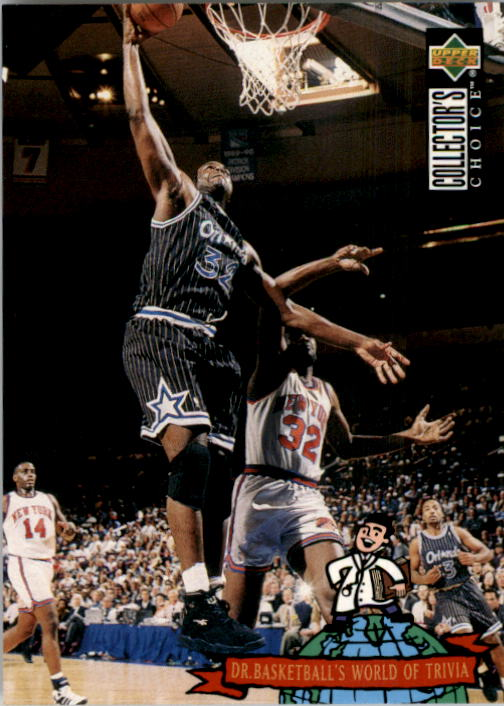1994-95 Collector's Choice #400 Shaquille O'Neal TRIV