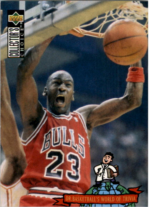 1994-95 Collector's Choice #402 Michael Jordan TRIV
