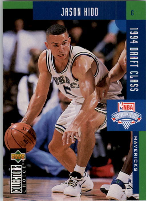 1994-95 Collector's Choice #408 Jason Kidd DC