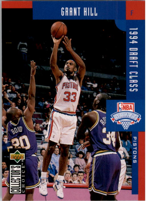 1994-95 Collector's Choice #409 Grant Hill DC