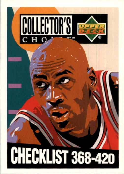 1994-95 Collector's Choice #420 Michael Jordan CL