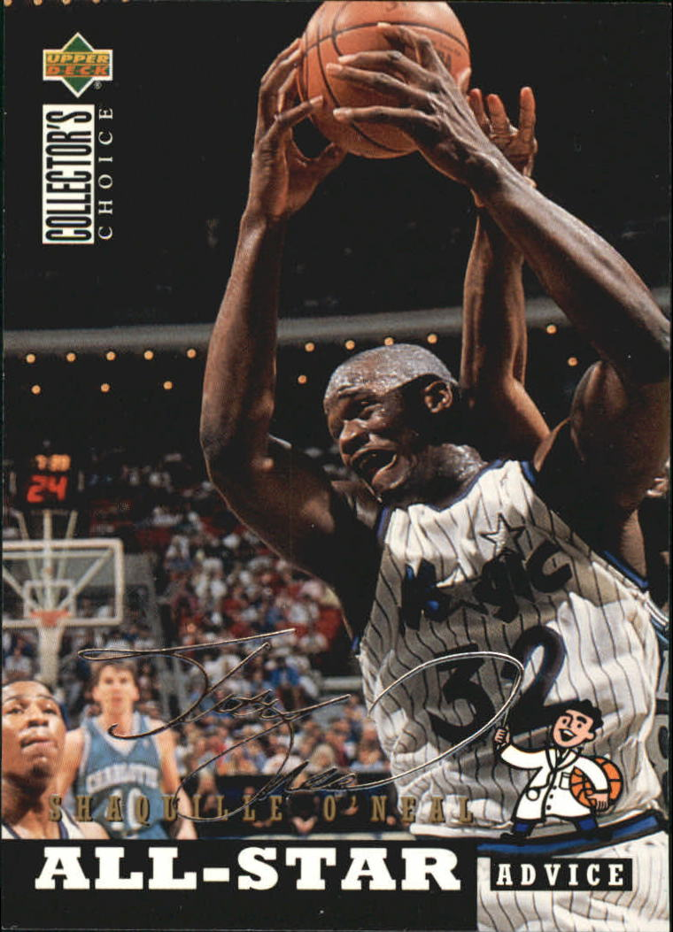 1994-95 Collector's Choice Silver Signature #197 Shaquille O'Neal ASA