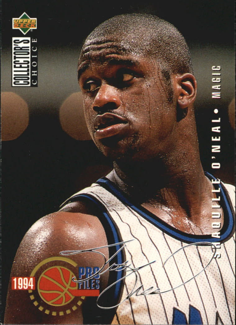 1994-95 Collector's Choice Silver Signature #205 Shaquille O'Neal PRO