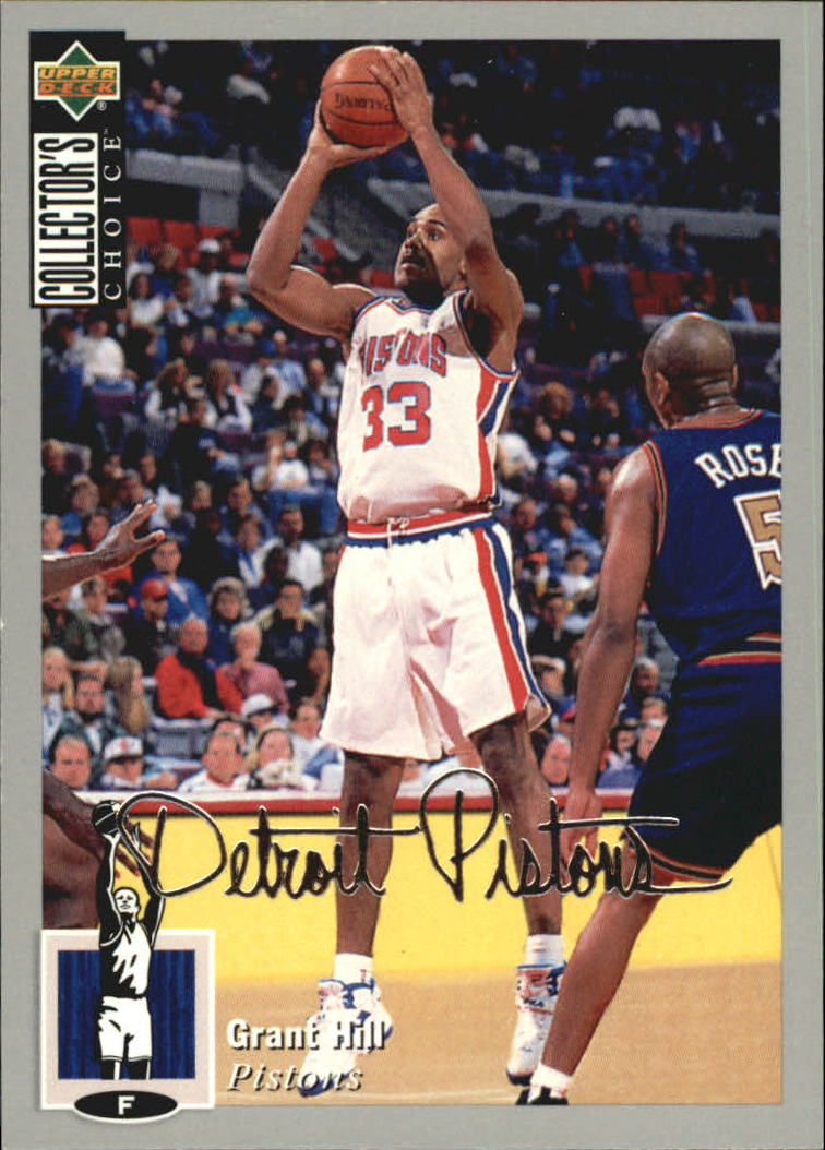 1994-95 Collector's Choice Silver Signature #219 Grant Hill