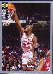 1994-95 Collector's Choice Silver Signature #240 Michael Jordan COMM