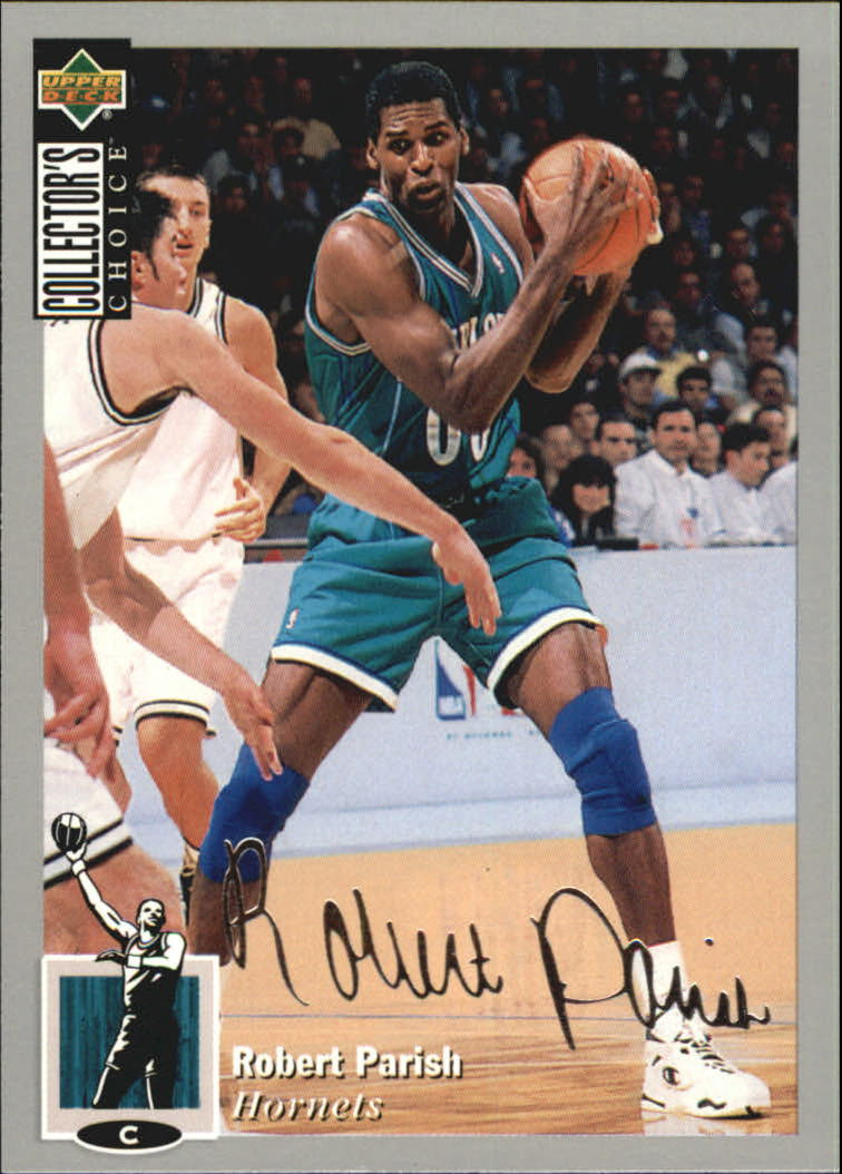 1994-95 Collector's Choice Silver Signature #248 Robert Parish