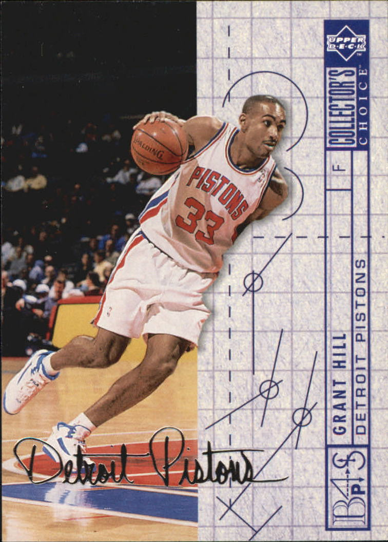1994-95 Collector's Choice Silver Signature #379 Grant Hill BP