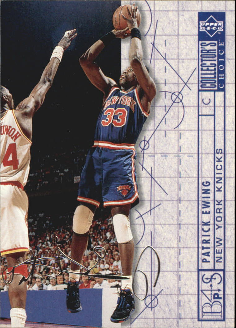 1994-95 Collector's Choice Silver Signature #389 Patrick Ewing BP