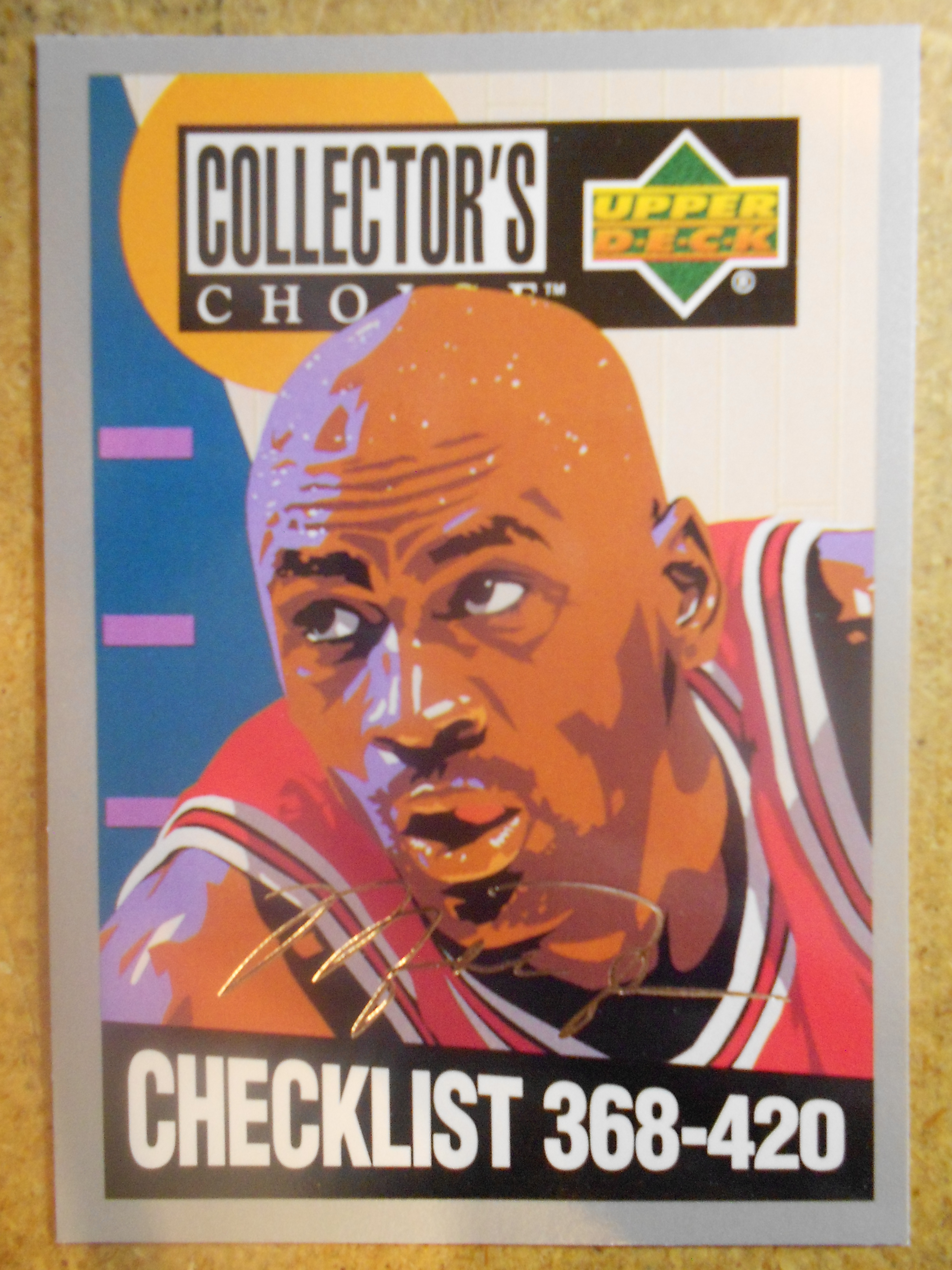 1994-95 Collector's Choice Silver Signature #420 Michael Jordan CL