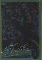 1994-95 Collector's Choice Gold Signature #32 Karl Malone