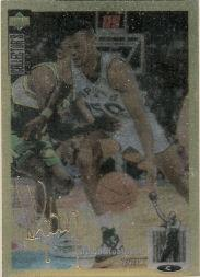1994-95 Collector's Choice Gold Signature #50 David Robinson