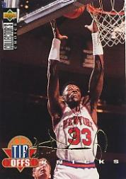 1994-95 Collector's Choice Gold Signature #183 Patrick Ewing TO