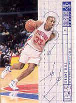 1994-95 Collector's Choice Gold Signature #379 Grant Hill BP