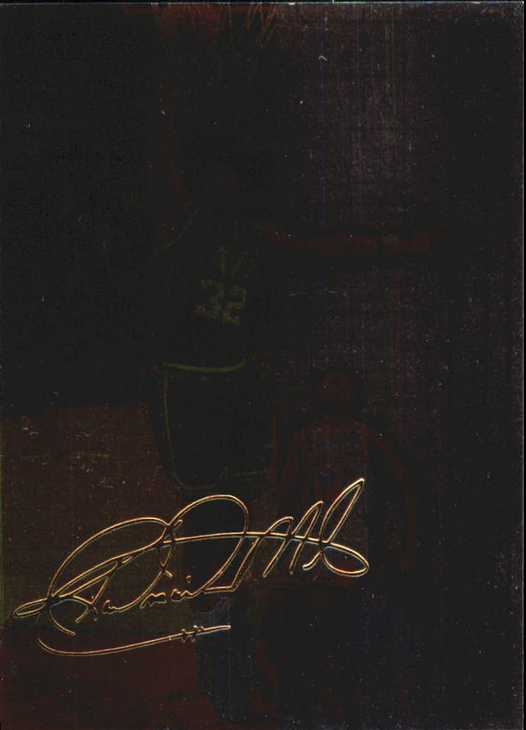 1994-95 Collector's Choice Gold Signature #397 Karl Malone BP