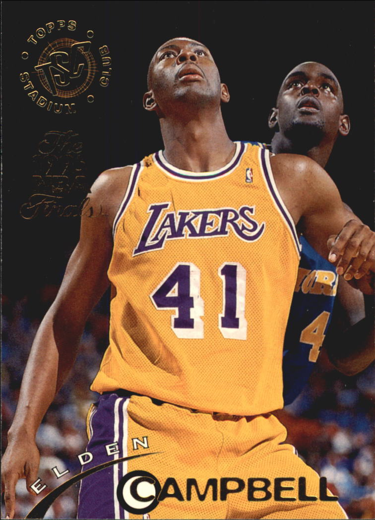 1994-95 Stadium Club Super Teams NBA Finals #4 Elden Campbell