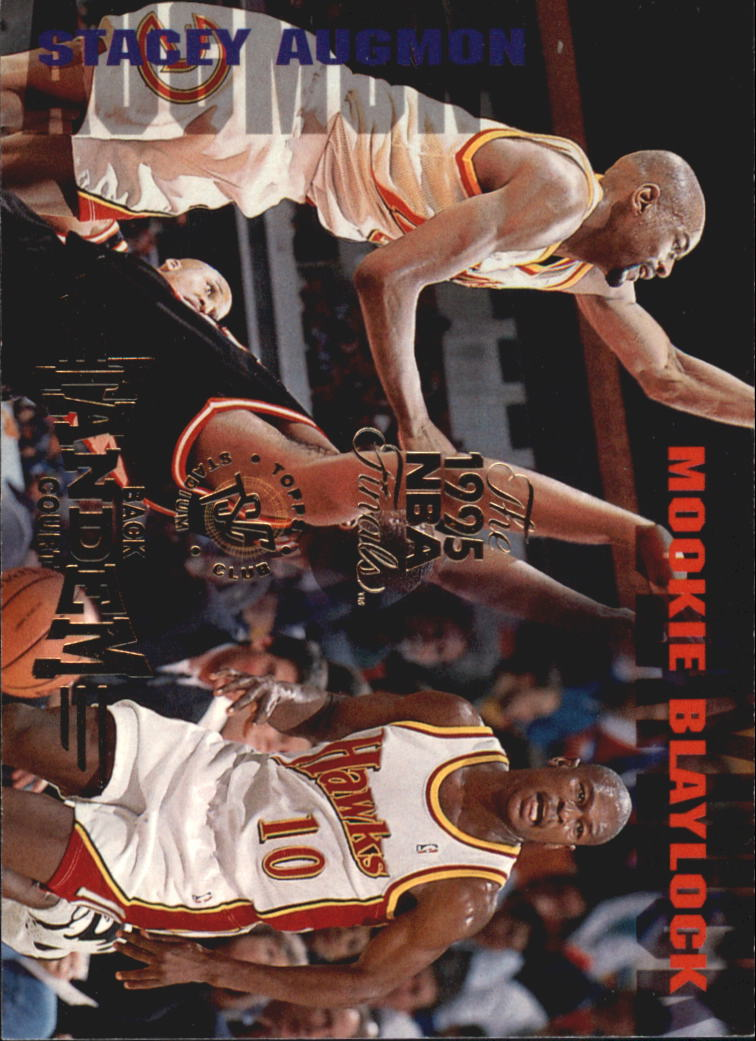 1994-95 Stadium Club Super Teams NBA Finals #327 Mookie Blaylock BCT/Stacey Augmon