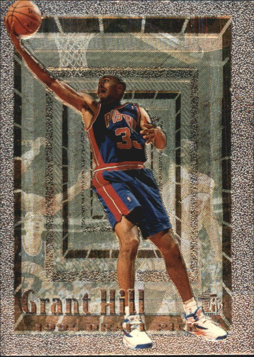 1994-95 Embossed #103 Grant Hill FOIL RC