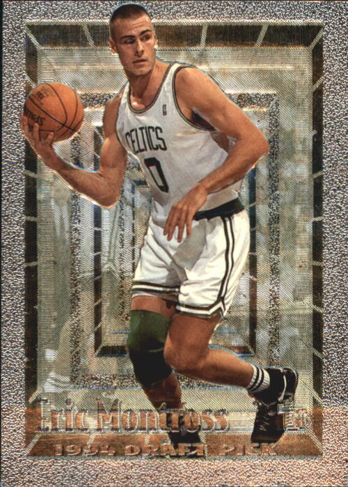 1994-95 Embossed #109 Eric Montross FOIL RC