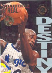 1994-95 Stadium Club Members Only Parallel #DD7B Shaquille O'Neal