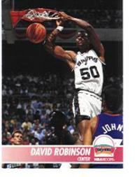 1994-95 Hoops Preview #NNO David Robinson