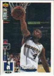 1994-95 Collector's Choice International French #4 Chris Webber