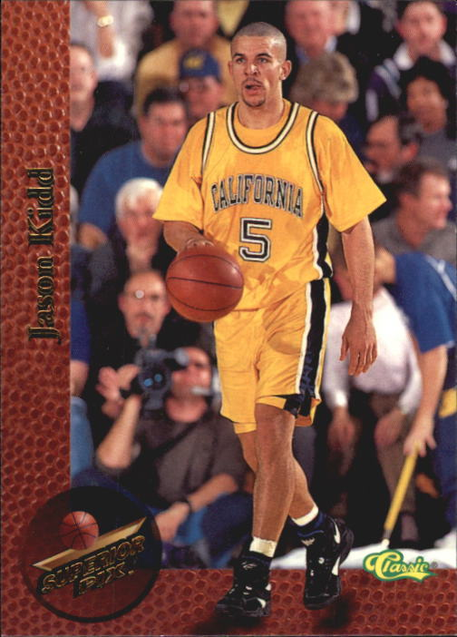 1995 Superior Pix #2 Jason Kidd