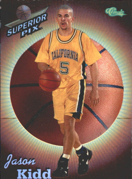 1995 Superior Pix Chrome #2 Jason Kidd