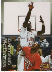 1995 Pacific Prisms Centers of Attention #C2 Antonio McDyess