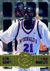 1995 Press Pass #5 Kevin Garnett
