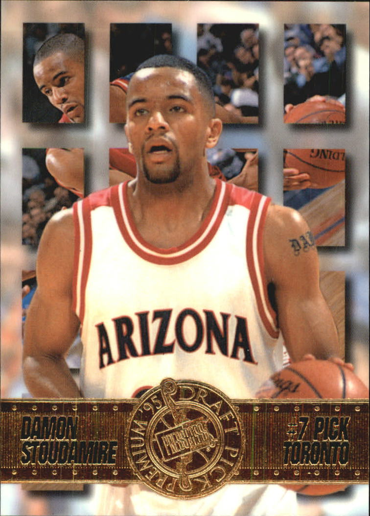 1995 Press Pass #7 Damon Stoudamire
