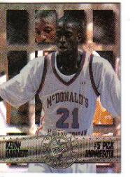 1995 Press Pass Foil #5 Kevin Garnett