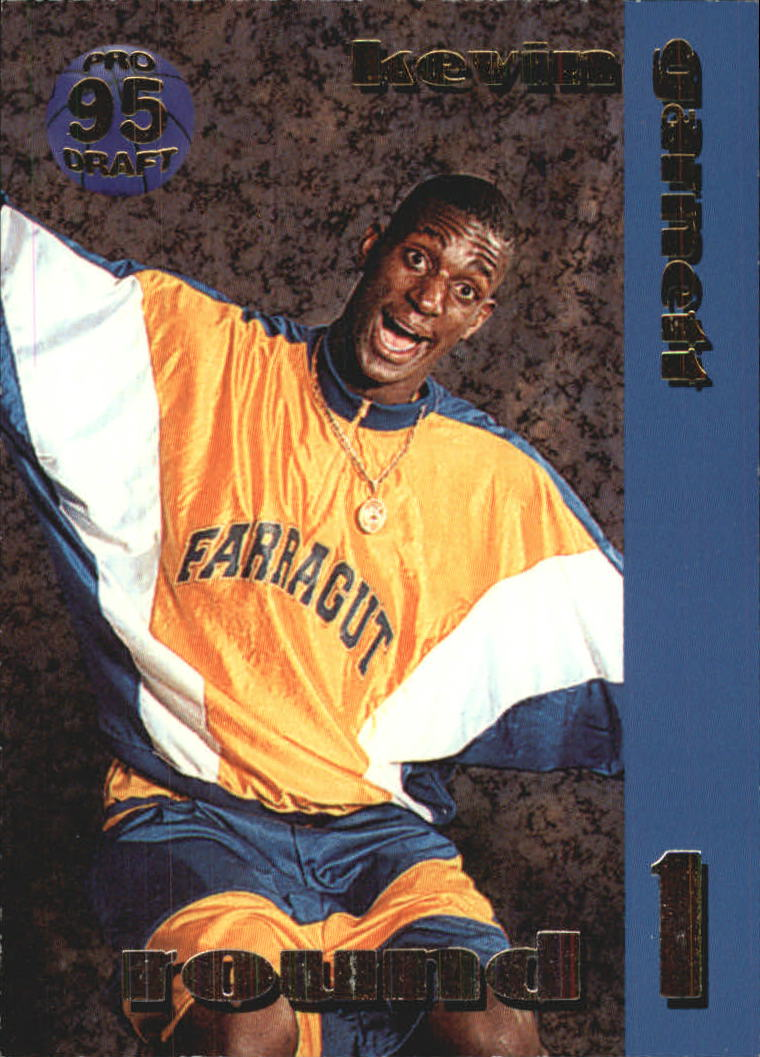 1995 Collect-A-Card #8 Kevin Garnett