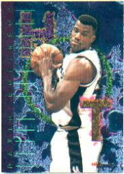 1995-96 Hoops Hot List #10 David Robinson