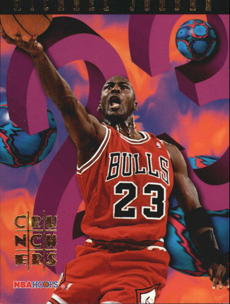 1995-96 Hoops Number Crunchers #1 Michael Jordan